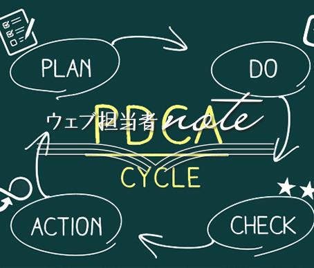 管理の流れを「PLAN」「DO」「CHECK」「ACTION」の4つに分けてある図