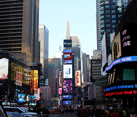 都会の街の写真