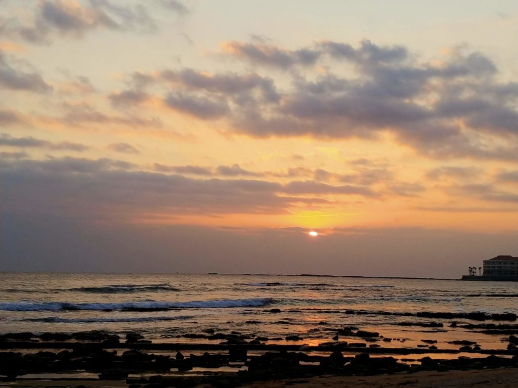 写真:日の出