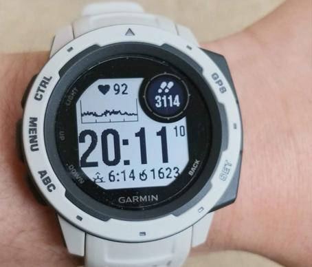 写真:ガーミンの時計