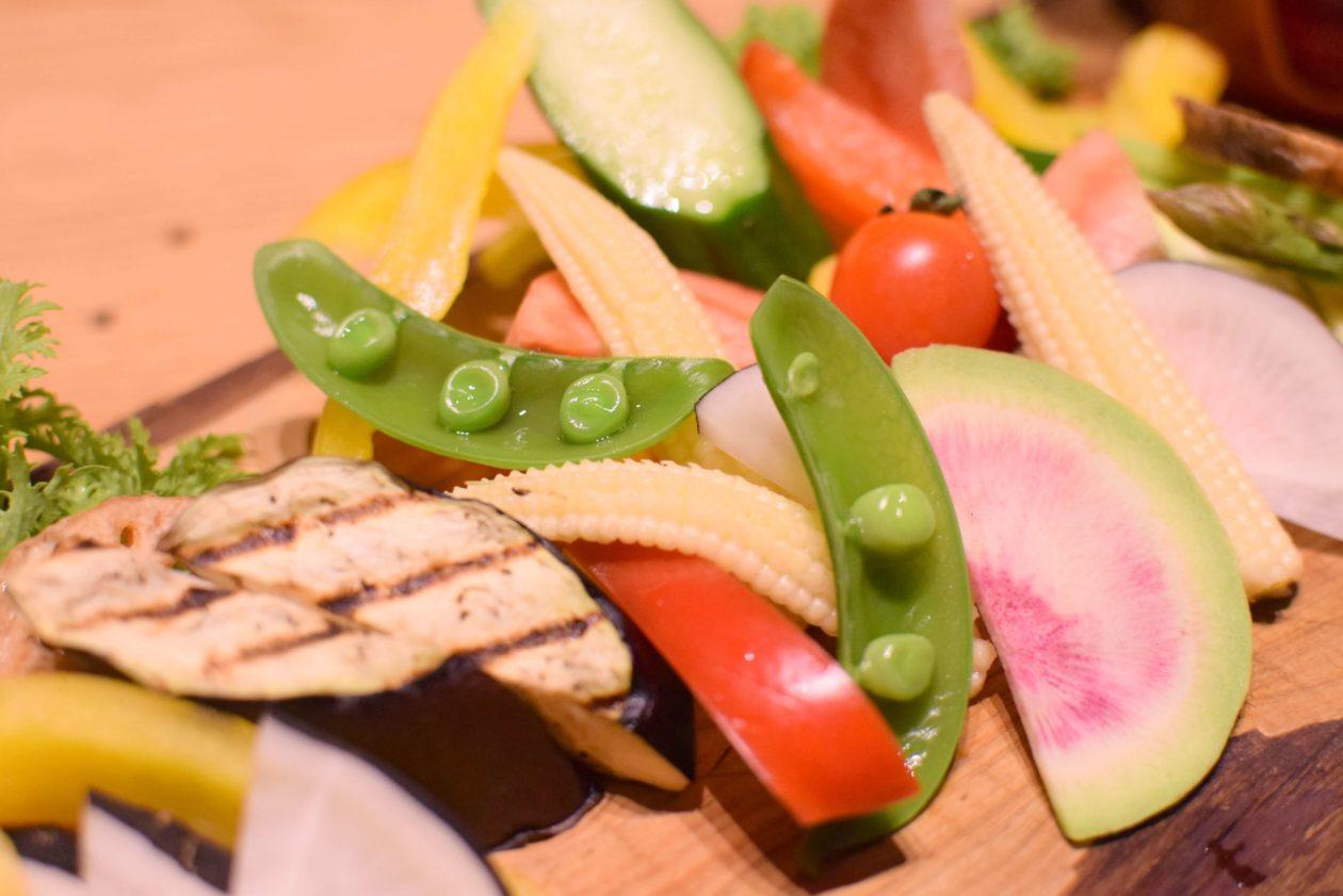 野菜のアップ