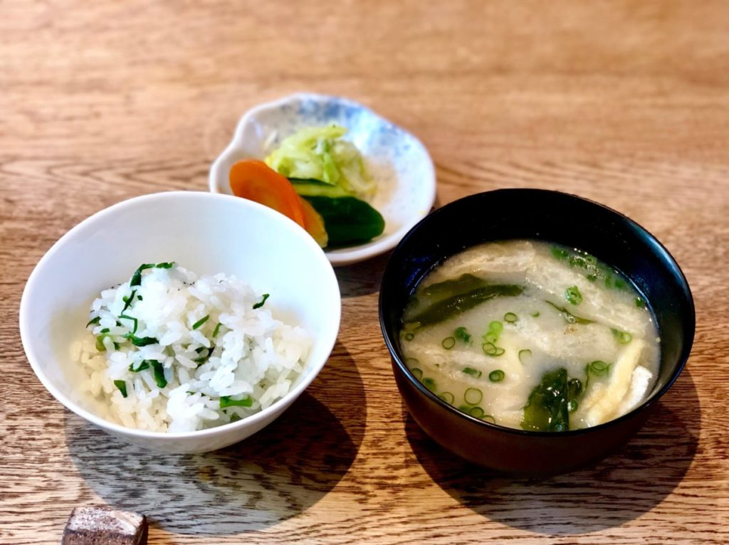 写真:新生姜ご飯
