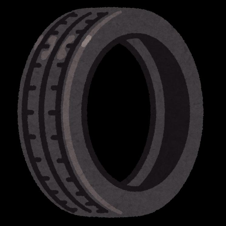 タイヤのイラスト