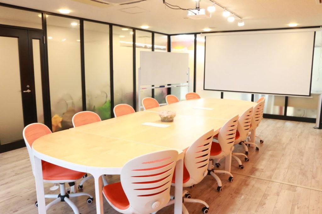 写真:リクトの会議室