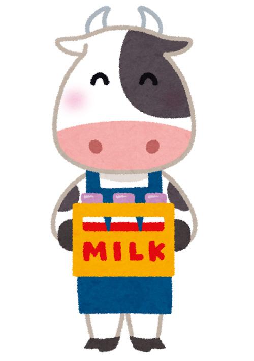 画像:牛のイラスト