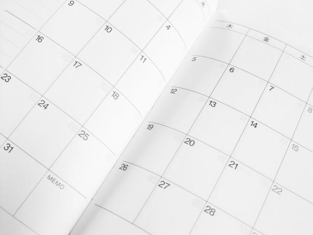 写真:カレンダー